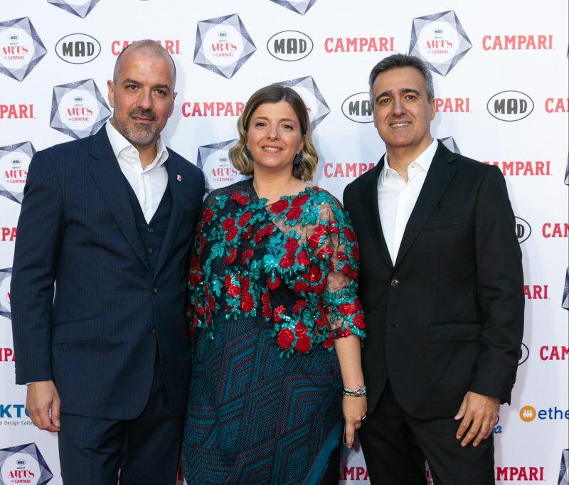 Πραγματοποιήθηκε για πρώτη φορά ο θεσμόςMad About Arts by Campari που ανέδειξε και τίμησενέους Έλληνες δημιουργούς.