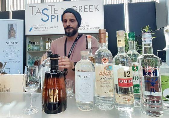Ολοκληρώθηκε με επιτυχία η ενέργεια, TASTE the GREEK SPIRIT, στην έκθεση Bar Convent Berlin, με την πρωτοβουλία του ΣΕΑΟΠ.