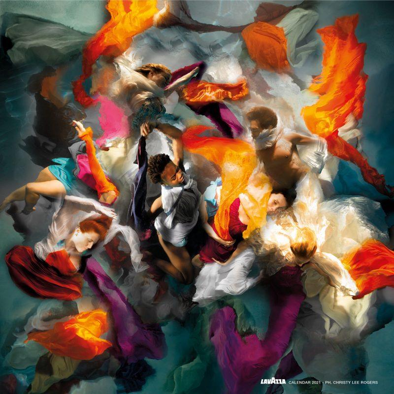 """Συμπληρώνοντας την 29η έκδοσή του, το νέο ημερολόγιο Lavazza """"The New Humanity 2021"""" αποτελεί ευρύτερο έργο τέχνης με θέμα τη βιωσιμότητα."""